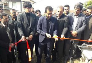 افتتاح پروژه آبرسانی روستایی «پیله کوه» میاندرود در هشتمین روز دهه فجر