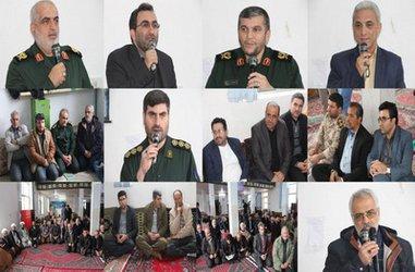 افتتاح طرح آبرسانی به روستای ماشمیان شهرستان رودبار