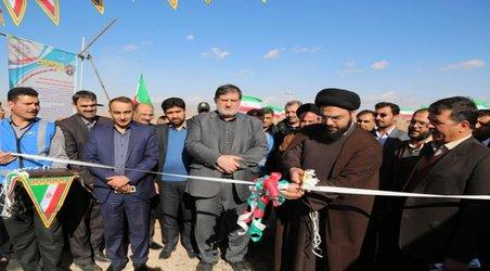 افتتاح ایستگاه پمپاژ کمکی شماره ۲ اردستان و بهره برداری از چاه جدید زواره
