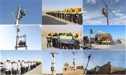 اصلاح و بهینه سازی شبکه های توزیع برق ۴۰ روستا در استان سمنان
