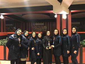 کسب مقام سوم مسابقات وزارت نیرو توسط بانوان برق منطقه ای خوزستان