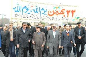 وزیر راه وشهرسازی با حضور در راهپیمایی ۲۲ بهمن در اصفهان؛