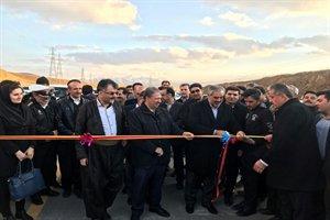 کنارگذر شهر سقز افتتاح شد