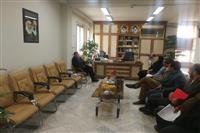 نشست مدیرکل حفاظت محیط زیست با مدیر کل بنیاد مسکن استان کرمان در خصوص راه کارهای تامین مسکن پرسنل