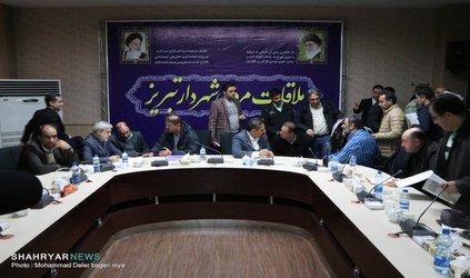 گزارش تصویری : ملاقات مردمی شهردار تبریز