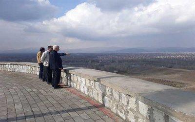 بازدید شهردار خوی از پروژه های عمرانی و محل اجرای پروژه های جدید