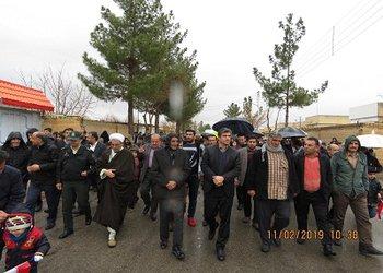 برگزاری مراسم پرشکوه راهپیمایی ۲۲ بهمن