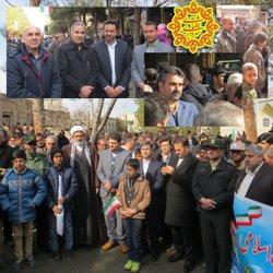 گزارش تصویری از حضور باشکوه مردم در راهپیمایی ۲۲ بهمن ماه