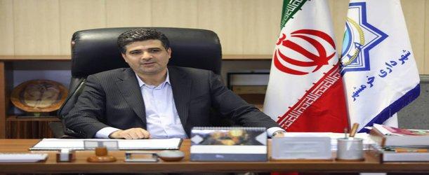 پیام شهردار خرمشهر در پِی شهادت تعدادی از نیروهای غیرتمند سپاه پاسداران انقلاب اسلامی