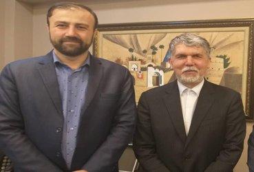 دیدار رییس کمیسیون فرهنگی و اجتماعی شورای شهر با وزیر فرهنگ و ارشاد اسلامی