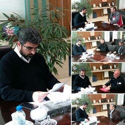 ملاقات عمومی با شهردار تاکستان، هر هفته سه شنبه ها ساعت ۹ الی ۱۳