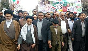 چهلمین سالروز پیروزی انقلاب اسلامی با حضور گسترده مردم و مسئولین
