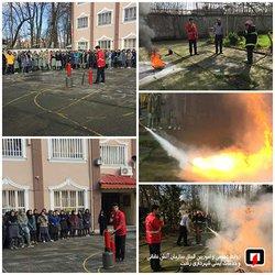 بالغ بر ۴۳ هزار آموزش تنها در ده ماهه سال ۹۷ توسط آتش نشانان شهر باران انجام گرفت/آتش نشانی رشت