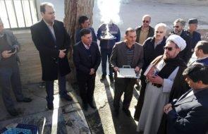 با حضور فرماندار طرقبه شاندیز پروژه آبرسانی فاز ۴ ویرانی در روستای دهنو به بهره برداری رسید