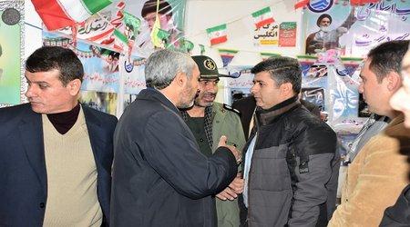 نمایشگاه دستاوردهای چهل ساله انقلاب شکوهمند اسلامی شهرستان سردشت