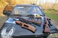 دستگیری سه شکارچی غیرمجاز درساری