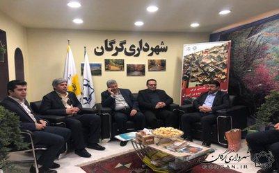 تقدیر مدیرعامل صندوق احیا بناهای تاریخی کشور از شهرداری گرگان
