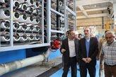معاون آب و آبفای وزیر نیرو از آب شیرینکن بندرعباس بازدید کرد
