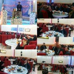 همایش تجلیل از بازنشستگان شرکت آب و فاضلاب روستایی غرب استان برگزار شد