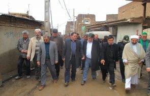 بهره برداری از پروژه آبرسانی روستای نهالدان داورزن