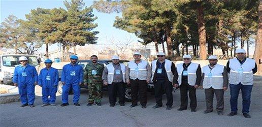 با مشارکت شرکت آبفای شهری استان سمنان رزمایش پدافند غیر عامل در سمنان  برگزار شد