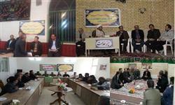 استقرار و فعالیت میز خدمت برق در مساجد روستاهای استان سمنان
