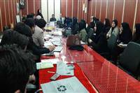 برگزاری جلسه آموزش مدیریت پسماند  برای بهورزان شهرستان شفت