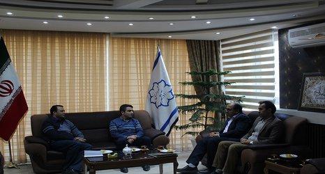 دیدار شهردار با رییس اداره بهزیستی شهرستان آذرشهر