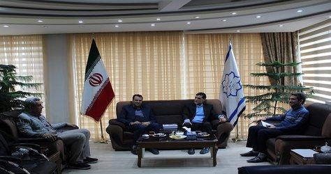 دیدار صمیمانه شهردار آذرشهر با دکتر صبری
