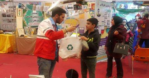 حضور فعال آموزشیاران سازمان پسماند شهرداری تبریز در جشنواره کشوری رویش