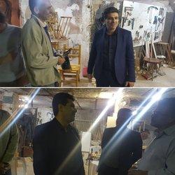 بازدید شبانگاهی شهردار خرمشهر از کارگاه های اِلمان سازی