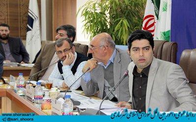 ادامه جلسات بررسی بودجه پیشنهادی سال ۹۸ شهرداری ساری و سازمان های تابعه در کمیسیون بودجه و حقوقی