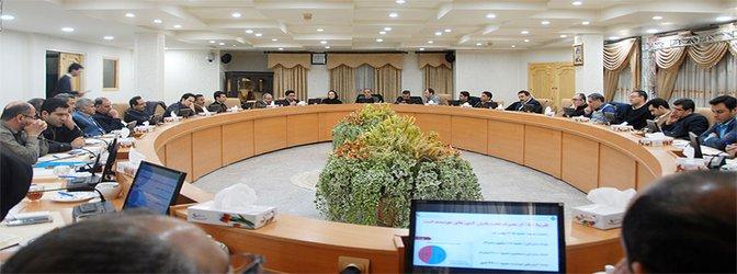 چهارمین نشست تخصصی طرح مطالعات راهبردی کاهش تلفات در شبکهه...