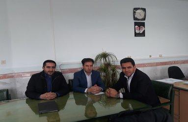 دیدار مدیر امور منابع آب ایجرود با مدیر آموزش پرورش این شهرستان در راستای اجرای طرح داناب