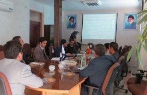 برگزاری اولین جلسه ایمنی آب در امور آبفار گناباد