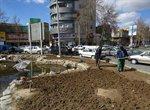 فضای شهر ارومیه برای کاشت گلهای بهاری آماده می شود