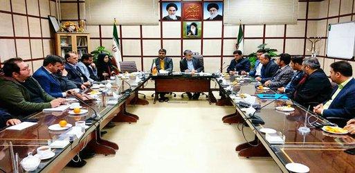 جلسه هماهنگی شهردار، اعضای شورا و پیمانکاران در آستانه سال نو