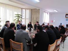 جلسه مدیریت مصرف برق  ویژه نمایندگان شهرکهای صنعتی در شرکت توزیع نیروی برق استان قزوین برگزار گردید.