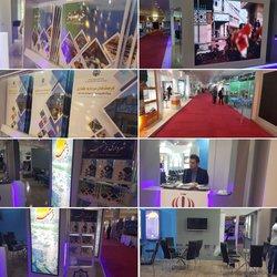 غرفه شهرداری خرمشهر در نمایشگاه مدیریت شهری و فرصت های سرمایه گذاری شهراریهای کشور