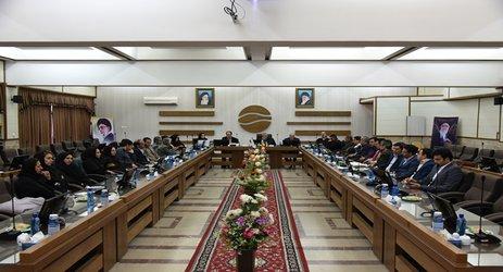 پنجمین جلسه کارگروه بیلان منابع آب حوضه آبریز دریاچه نمک برگزار شد