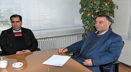 جلسه HSE در شرکت آب و فاضلاب استان آذربایجان غربی برگزار شد.