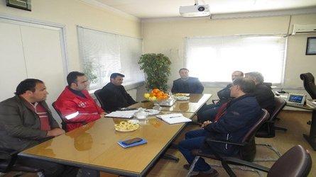 بررسی وضعیت ایمنی و سیستم آتش نشانی ساختمان های آبفای شهری استان