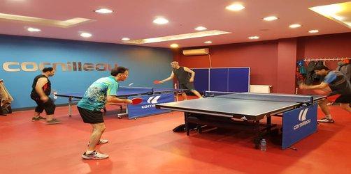 مسابقات تنیس روی میز بزرگداشت دهه مبارک فجر ویژه اعضا و پرسنل سازمان برگزار شد