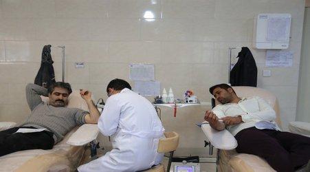 اهدا خون توسط مهندسان عضو سازمان در روز مهندس