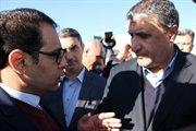 گزارش تصویری سفر وزیر راه وشهر سازی به استان مرکزی وبازدیداز پروژه های این اداره کل