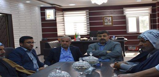 تقدیر اهالی رفیع از استاندار و مدیر کل مدیریت بحران خوزستان