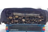 کشف و ضبط یک محموله قاچاق چوب بلوط درکهگیلویه وبویراحمد