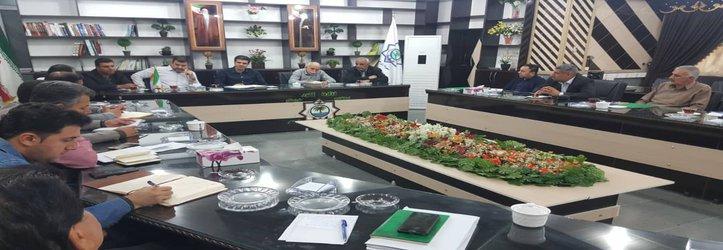 جلسه ستاد نوروزی به ریاست داود دارابی شهردار خرمشهر