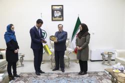 دیدار معاون شهردار شهر لووف اکراین با رییس شورای شهر شیراز
