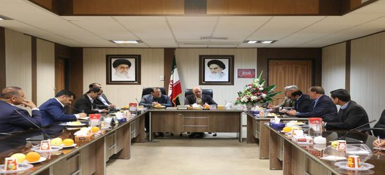 دیدار اعضای شورای شهر شیراز با فرماندار جدید شیراز